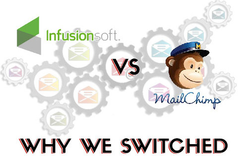 MailChimp vs InfusionSoft – Why We Switched