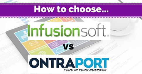 Infusionsoft vs Ontraport: What's the Difference?