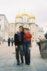 Tamara and James in Moscow