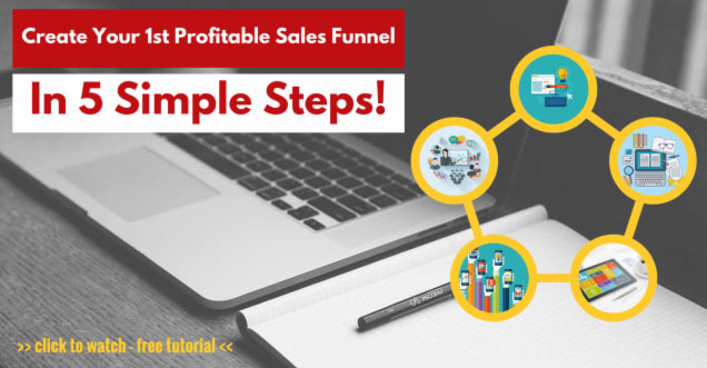 5 steps to profitable funnel